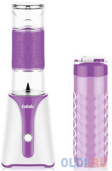 Блендер BBK KBS0352 белый/фиолетовый