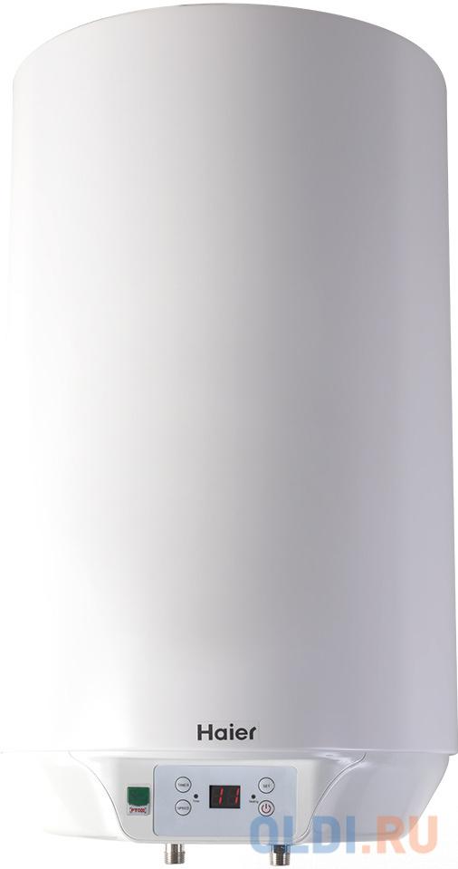 Водонагреватель накопительный электрический Haier ES80V-S (R) 1000/2000/3000 Вт, 80 литров, вертик. электрический накопительный водонагреватель haier es80v f1