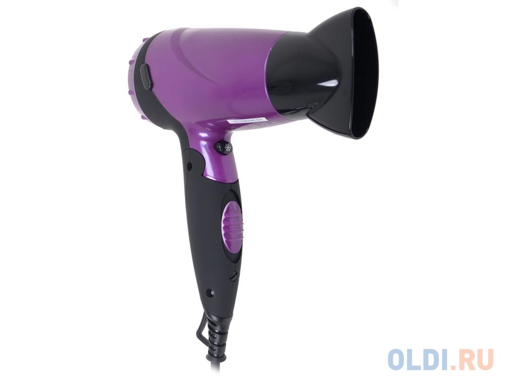 Фен BBK BHD3225i черно-фиолетовый