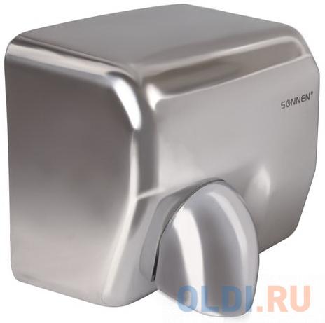 Сушилка для рук SONNEN HD-798S, 2300 Вт, время сушки 15 секунд, нержавеющая сталь, 604194 сушилка для рук sonnen hd 798s 2300 вт время сушки 15 секунд нержавеющая сталь 604194