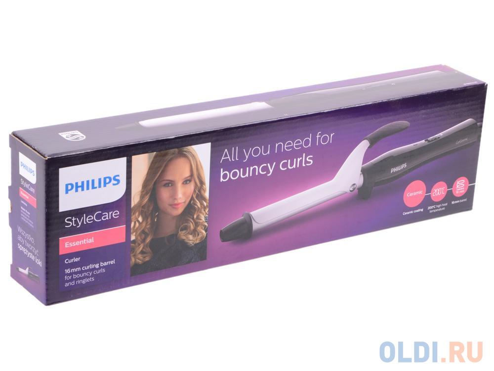 Щипцы Philips BHB862/00 StyleCare Essential, плойка, чёрный