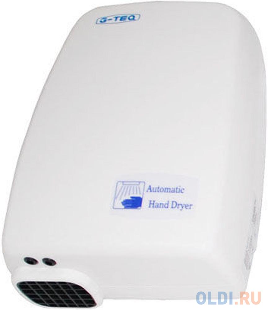 Сушилка для рук G-TEQ 8809 PW 1200Вт 16м/сек пластик белый