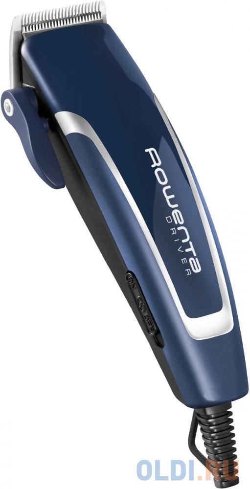 Машинка для стрижки волос Rowenta TN-1606 синий машинка для стрижки rowenta tn 1600