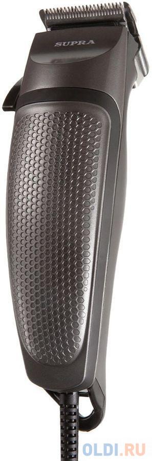 Фото - Машинка для стрижки Supra HCS-920 черный 3Вт (насадок в компл:4шт) машинка для стрижки andis d8 черный насадок в компл 4шт