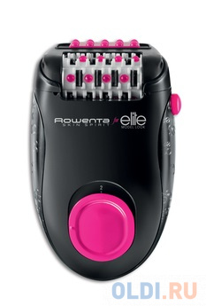 Эпилятор Rowenta EP2902F0 чёрный розовый эпилятор rowenta skin respect ep8060f0
