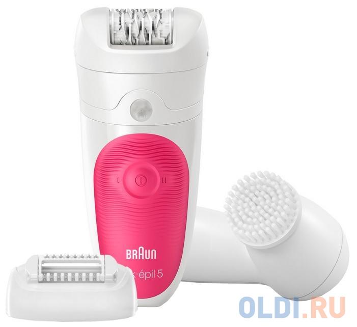 Эпилятор Braun 5-539 белый розовый