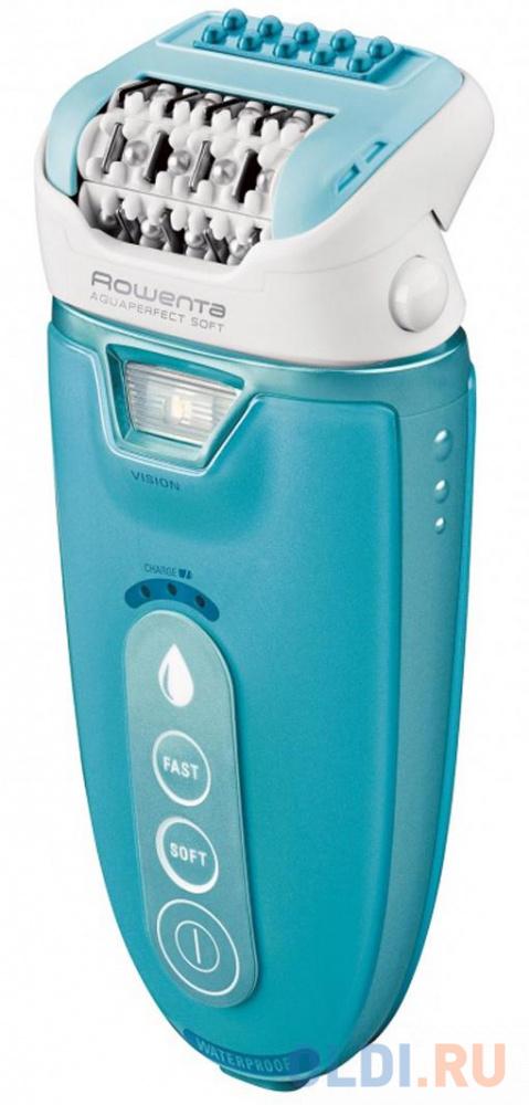 Эпилятор Rowenta EP9330 голубой эпилятор rowenta skin respect ep8060f0