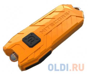 Фонарь брелок Nitecore Tube оранжевый лам.:светодиод.x1 (16447) фото