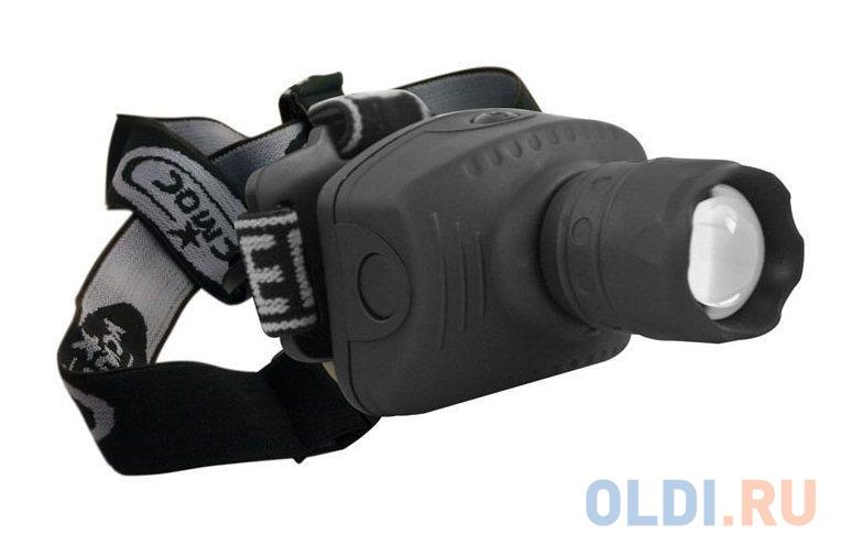 Фонарь налобный КОСМОС H3W-LED чёрный