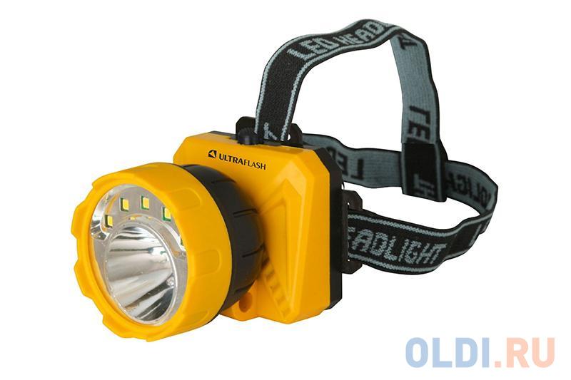 Фото - Фонарь налобный Ultraflash LED5372 чёрный желтый ultraflash
