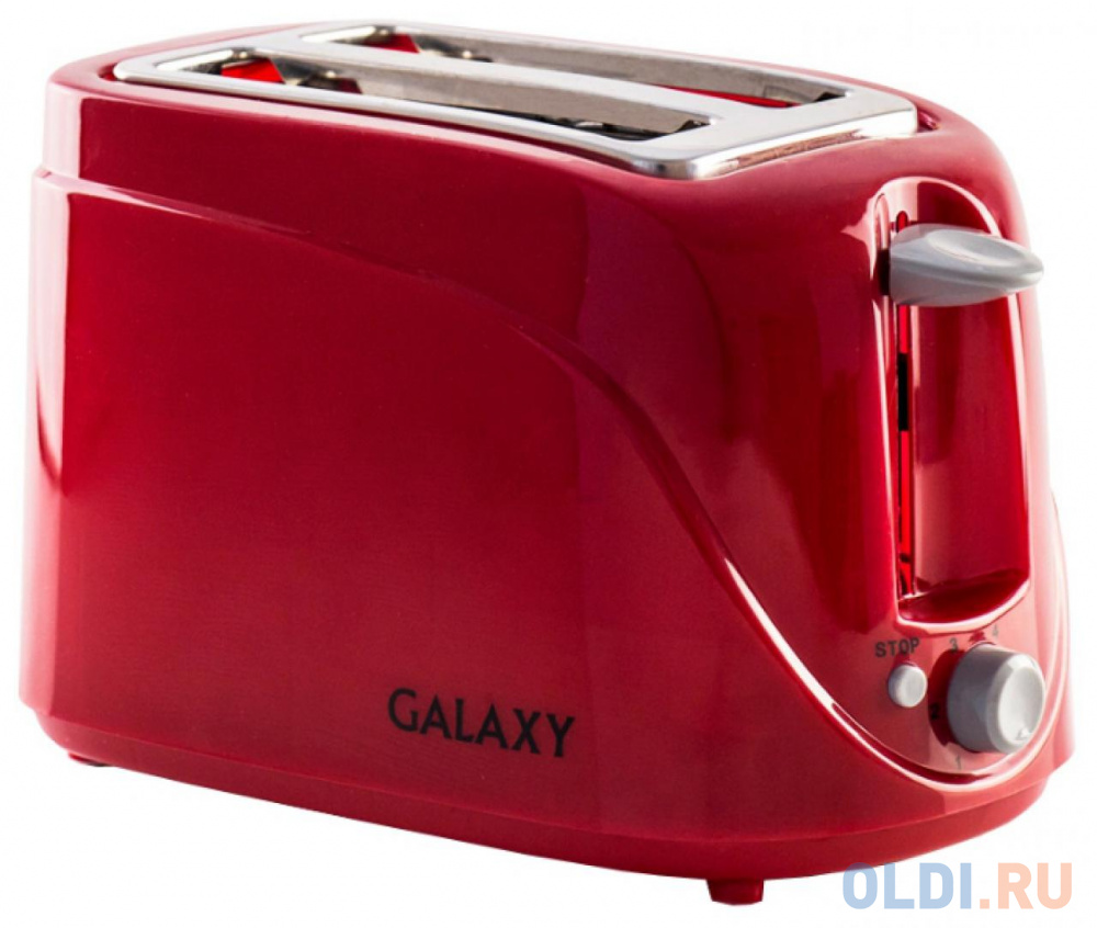 Тостер GALAXY GL2902 цвет в ассортименте тостер galaxy gl2902 серебристый чёрный