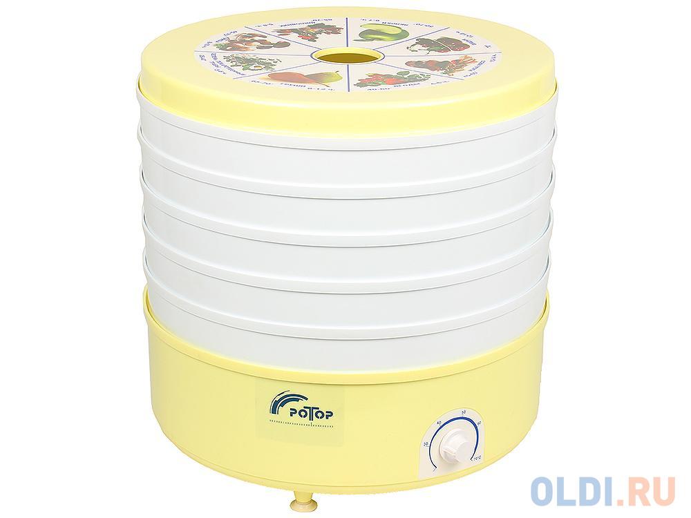Сушилка для овощей и фруктов Ротор СШ-002 (с вент. 5 поддонов (гофротара), терморегулятор, 20л, масса 4,5кг Барнаул)