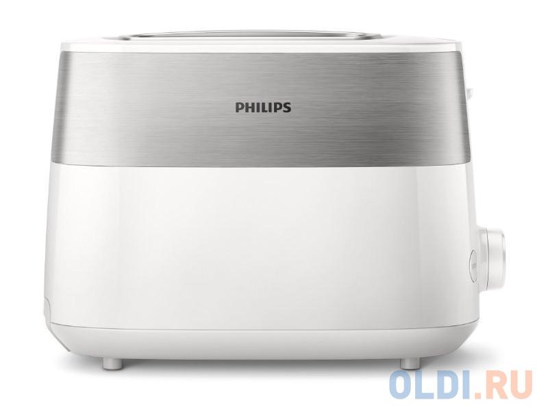 Фото - Тостер Philips HD2515/00 830 Вт, 8 настроек, 2, белый тостер philips hd2628 00