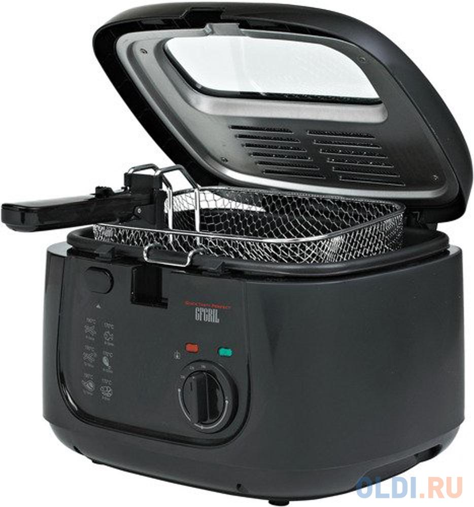 Фритюрница GFGRIL GFF-05 Compact чёрный