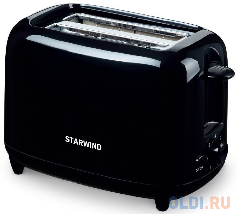 Тостер StarWind ST7002 чёрный