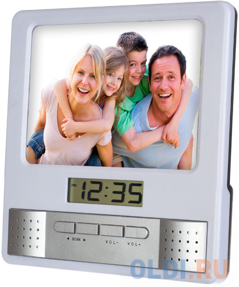 Фото - Часы-фоторамка Perfeo Foto белый PF-S6005 jimmy garmin vivomove мода спортивный зрелищный мониторинг активности смарт часы спортивная версия белый