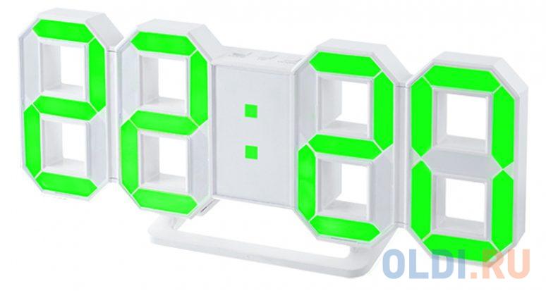 Фото - Часы настольные Perfeo PF-663 белый jimmy garmin vivomove мода спортивный зрелищный мониторинг активности смарт часы спортивная версия белый