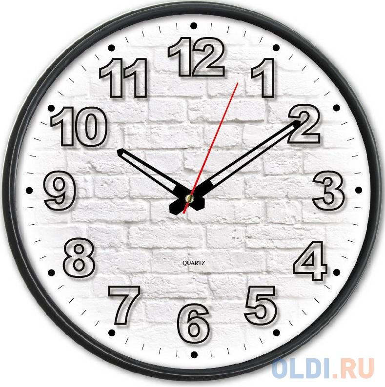 Фото - Часы настенные аналоговые Бюрократ WallC-R71P черный настенные фотокартины add color painting ts056698