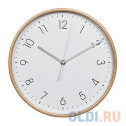 Фото - Часы настенные аналоговые Hama HG-320 белый michael kors часы michael kors mk2659 коллекция portia