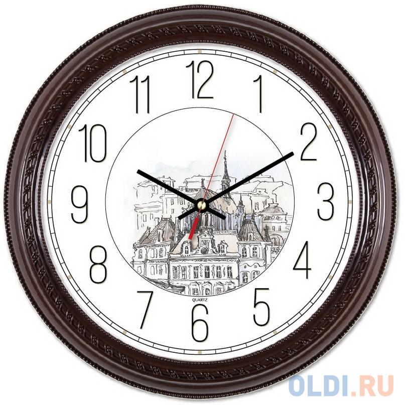 Фото - Часы настенные аналоговые Бюрократ WallC-R63P коричневый nemo одеяло puffin blanket коричневый