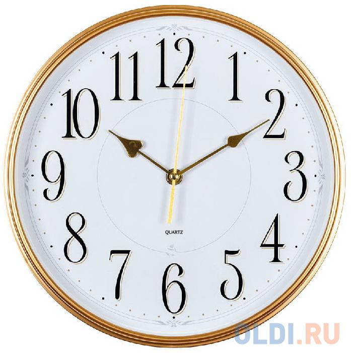 Фото - Часы настенные аналоговые Бюрократ WallC-R76P белый jimmy garmin vivomove мода спортивный зрелищный мониторинг активности смарт часы спортивная версия белый