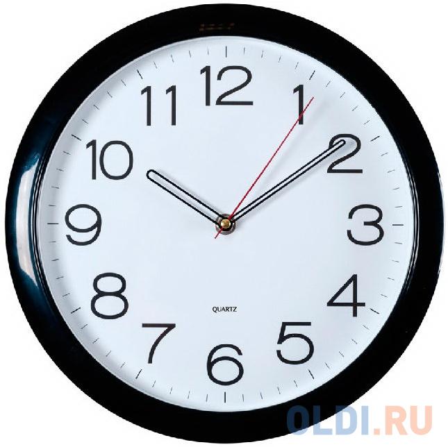 Фото - Часы настенные аналоговые Бюрократ WallC-R78P черный кресло бюрократ ch 808axsn or 16 черный