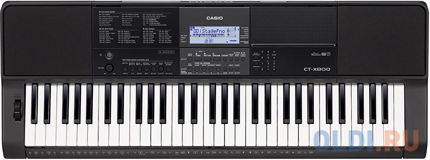 Синтезатор Casio CT-X800 61клав. черный синтезатор yamaha shs 500 черный