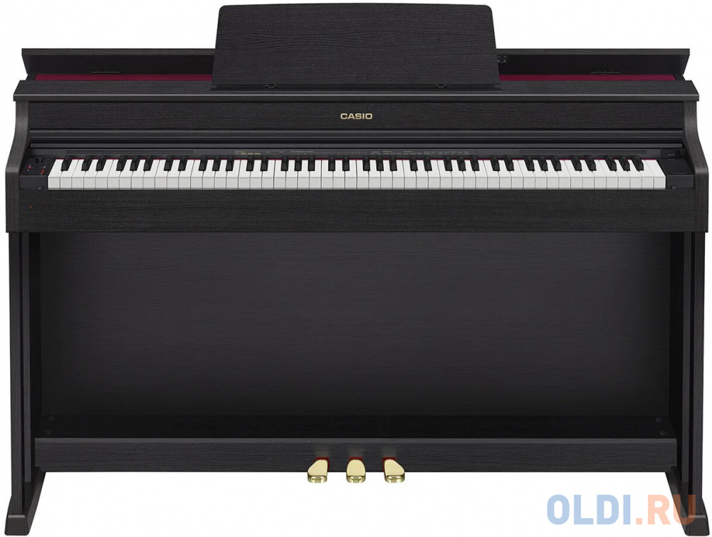 Фото - Цифровое фортепиано Casio CELVIANO AP-470BK 88клав. черный цифровое фортепиано casio privia px 870bn 88клав коричневый