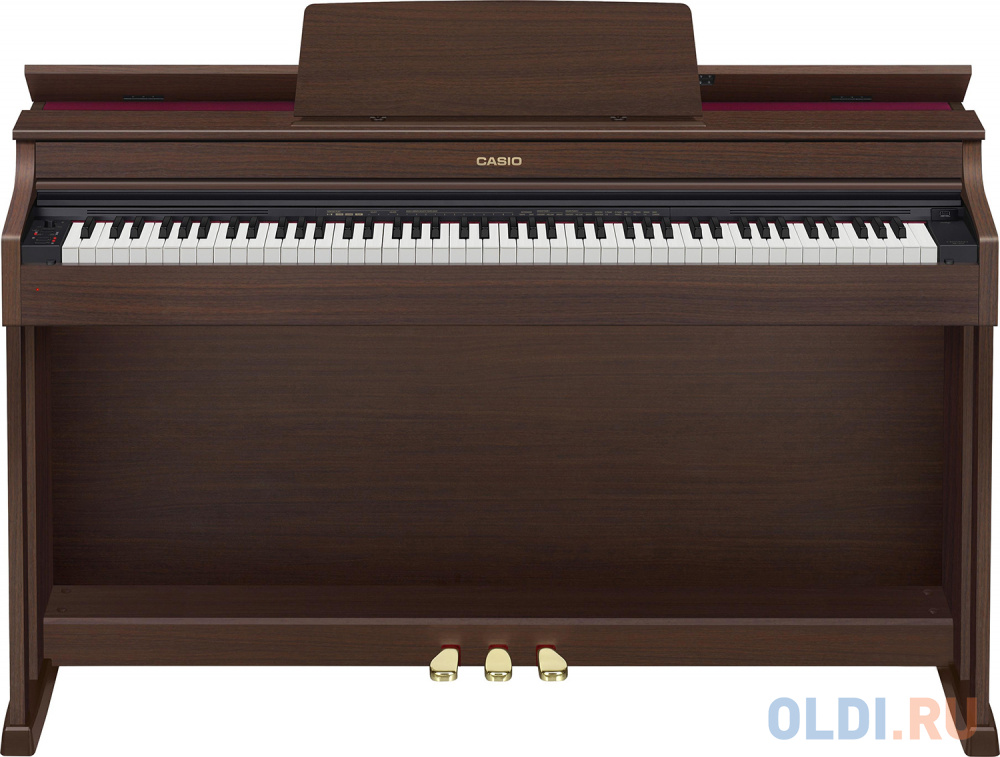 Фото - Цифровое фортепиано Casio CELVIANO AP-470BN 88клав. коричневый цифровое фортепиано casio privia px 870bn 88клав коричневый