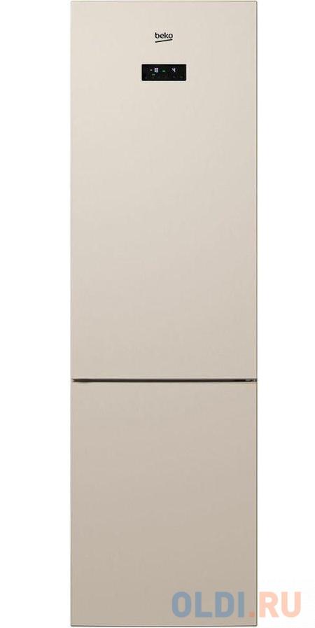 Холодильник Beko RCNK356E20SB бежевый (двухкамерный) холодильник beko rcne520e20zgb