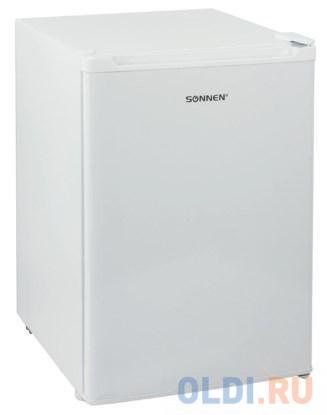 Холодильник SONNEN DF1-08, однокамерный, объем 70 л, морозильная камера 4 л, 44х51х64 см, белый