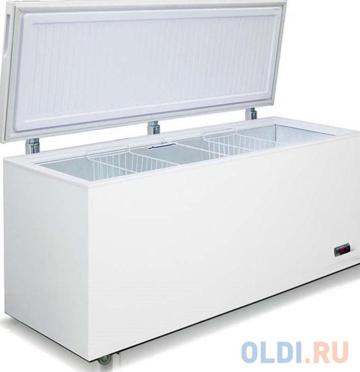 Морозильный ларь Бирюса Б-560KX белый
