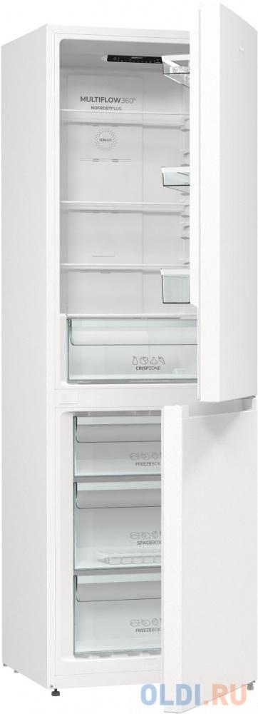 Холодильник Gorenje NRK6191EW4 белый (двухкамерный)