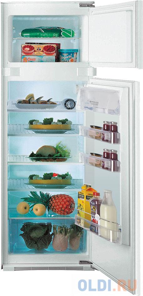 Встраиваемый холодильник INDESIT/ 157.6x54x54,5 см, 191/49 л, 35 дБ, LED освещение, морозильная камера сверху
