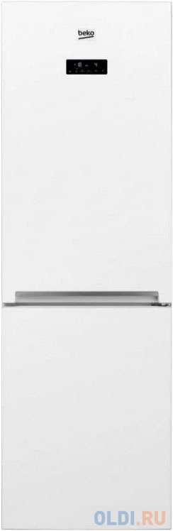Холодильник Beko RCNK321E20BW белый (двухкамерный) холодильник beko rcne520e20zgb