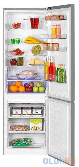 Холодильник Beko RCNK356K20S серебристый холодильник beko rcne520e20zgb