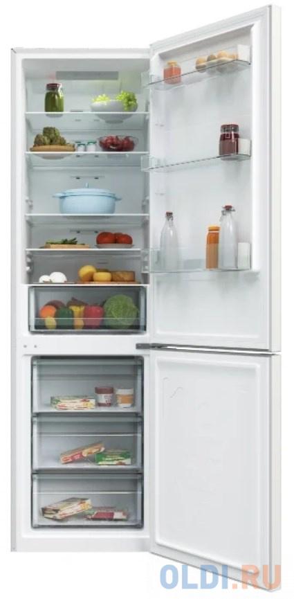 Холодильник CANDY/ 200х59.5х65.7, 264+106 л, No Frost, нижняя морозильная камера, белый