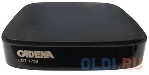 Цифровой телевизионный DVB-T2 ресивер CADENA CDT-1793