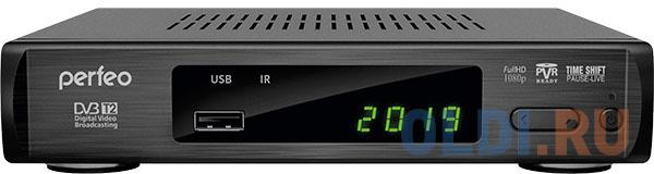 Фото - Perfeo DVB-T2/C приставка LEADER для цифр.TV, Wi-Fi, IPTV, HDMI, 2 USB, DolbyDigital, пульт ДУ perfeo dvb t2 c medium pf_a4487