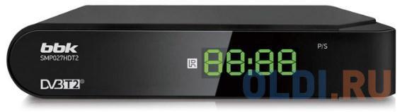Ресивер DVB-T2 BBK SMP027HDT2 черный