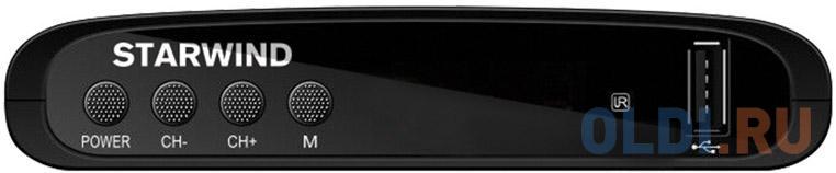 Ресивер DVB-T2 Starwind CT-100 черный