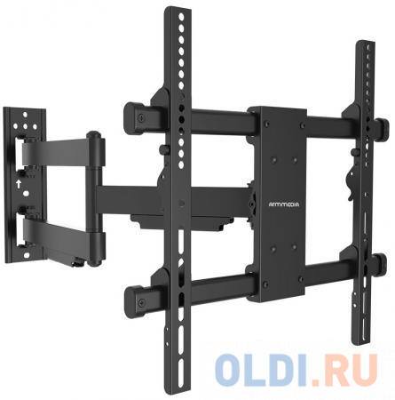 Фото - Кронштейн ARM Media Paramount-40 черный для LED/LCD ТВ 32-75 настенный до 50кг кронштейн на стену arm media paramount 60 черный
