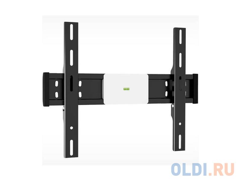 Фото - Кронштейн Holder LCD-F4611-B черный для ЖК ТВ 32-65 настенный от стены 35мм наклон 0° до 40 кг кронштейн holder lcd f4611 до 40кг