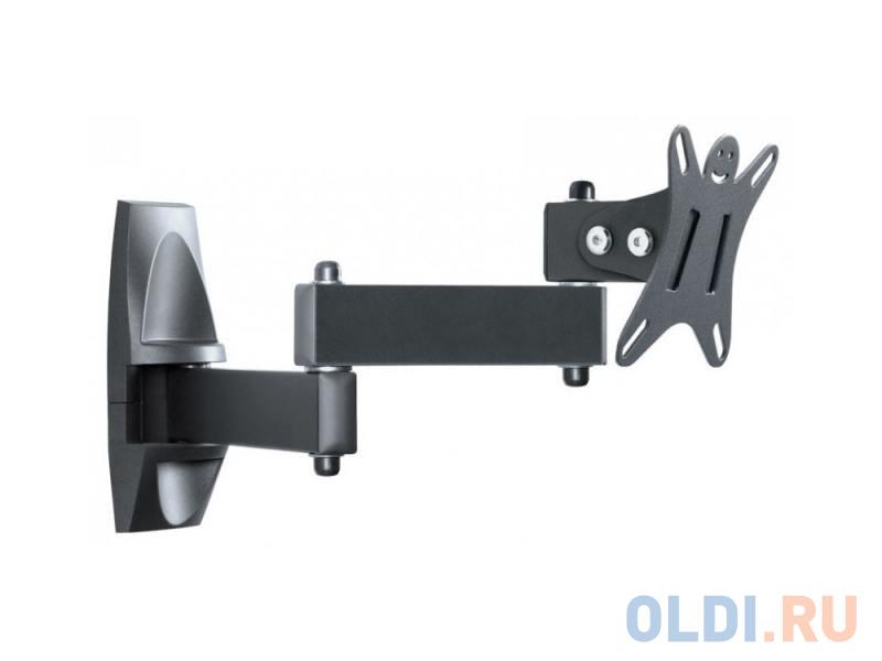 Фото - Кронштейн Holder LCDS-5039 металлик для ТВ 10-26 +15° поворот 350° (до 25кг) LCDS-5039 METALLIC кронштейн