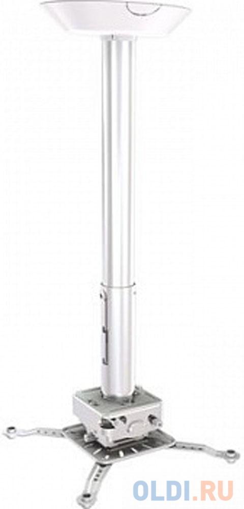 Фото - [PRG18A-W] Универсальный потолочный комплект Wize Pro PRG18A-W состоящий из крепления с микро регулировкой+штанги 30-46см +площадки к потолку для проектора,макс.расст. между крепеж.отверстиями 537 мм,наклон +/- 15°,поворот +/- 8°,вращение 360°,до 32 кг,б потолочный комплект для проектора wize pro для размещения на подвесной потолок на основе комплекта pr18a w штанга 30 46 см