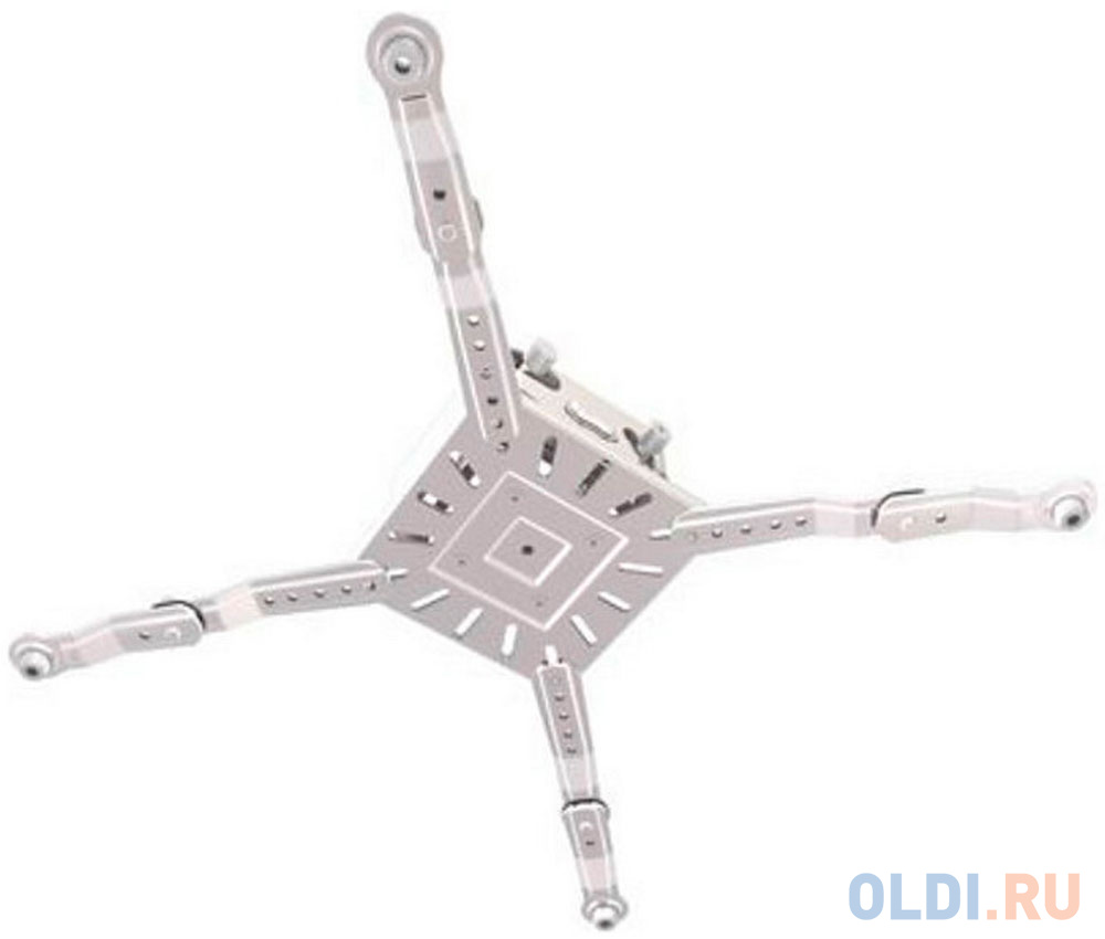 Фото - [PR3XL-W] Универсальное потолочное крепление Wize Pro PR3XL-W для проектора с микро регулировкой вручную/без использования инструментов, максимальное расстояния между крепежными отверстиями 537 мм, наклон +/-15°, поворот +/- 8°, вращение 360°, до 32 кг, универсальное потолочное крепление wize wth140