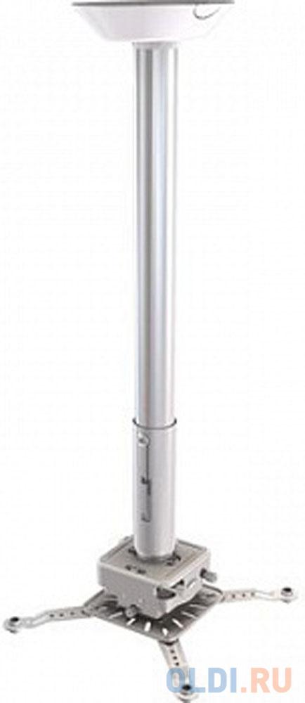 Фото - [PRG24A-W] Универсальный потолочный комплект Wize Pro PRG24A-W состоящий из крепления с микро регулировкой+штанги 46-61см +площадки к потолку для проектора,макс.расст. между крепеж.отверстиями 537 мм,наклон +/- 15°,поворот +/- 8°,вращение 360°,до 32 кг,б потолочный комплект для проектора wize pro для размещения на подвесной потолок на основе комплекта pr18a w штанга 30 46 см