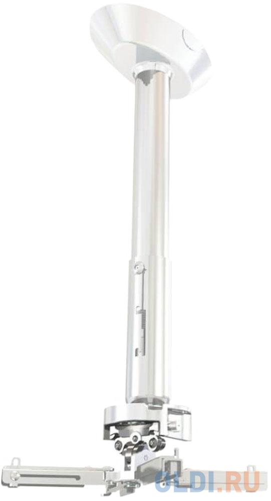 Фото - [PR35A-W] Универсальное потолочный комплект Wize Pro PR35A-W состоящий из крепления+штанги 60-90 см +площадки к потолку для проектора, максимальное расстояние между крепежными отверстиями 430 мм, наклон +/- 25°, поворот +/- 6°, вращение 360°, до 23 кг, б потолочный комплект для проектора wize pro для размещения на подвесной потолок на основе комплекта pr18a w штанга 30 46 см