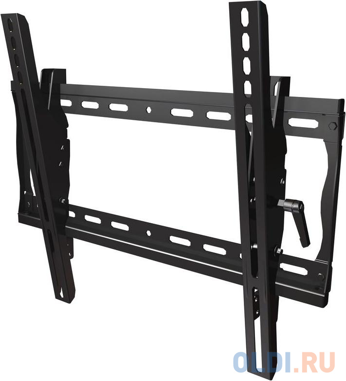 "Кронштейн Wize Pro T46 черный для 26""-46"" настенный от стены 60мм наклон +15/-5° VESA 452х401 до 68кг"