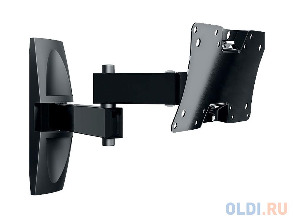 Кронштейн Holder LCDS-5064 черный для ЖК ТВ 19-32 макс 200x100 наклон 15-25° поворот 350° 2 колена до 30 кг кронштейн holder lcds 5064 черный для жк тв 19 32 макс 200x100 наклон 15 25° поворот 350° 2 колена до 30 кг
